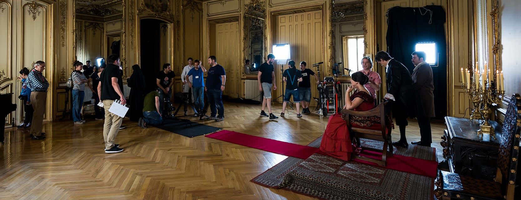 Goya Producciones interior palacio