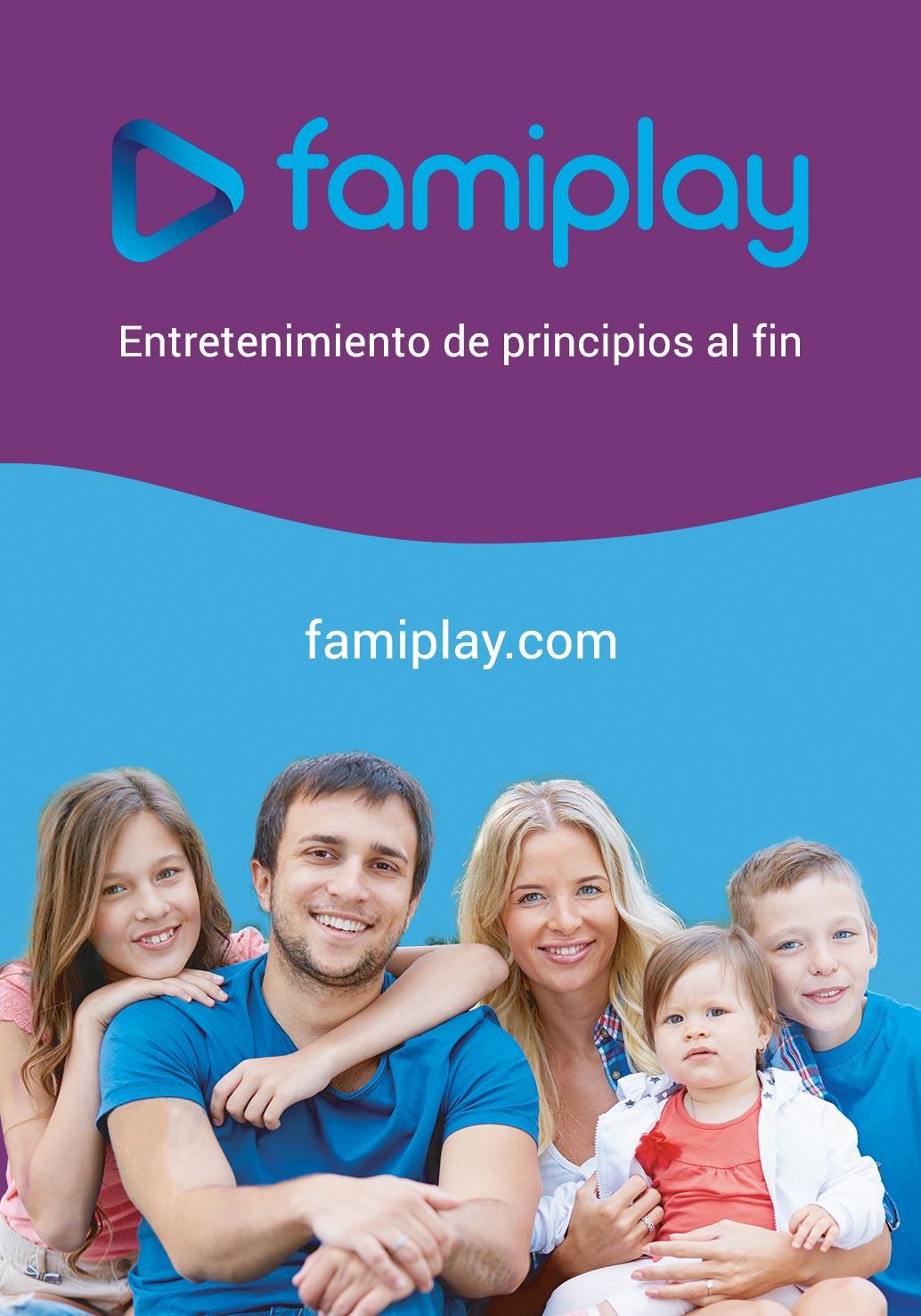 Famiplay, la plataforma con cine y series para toda la familia