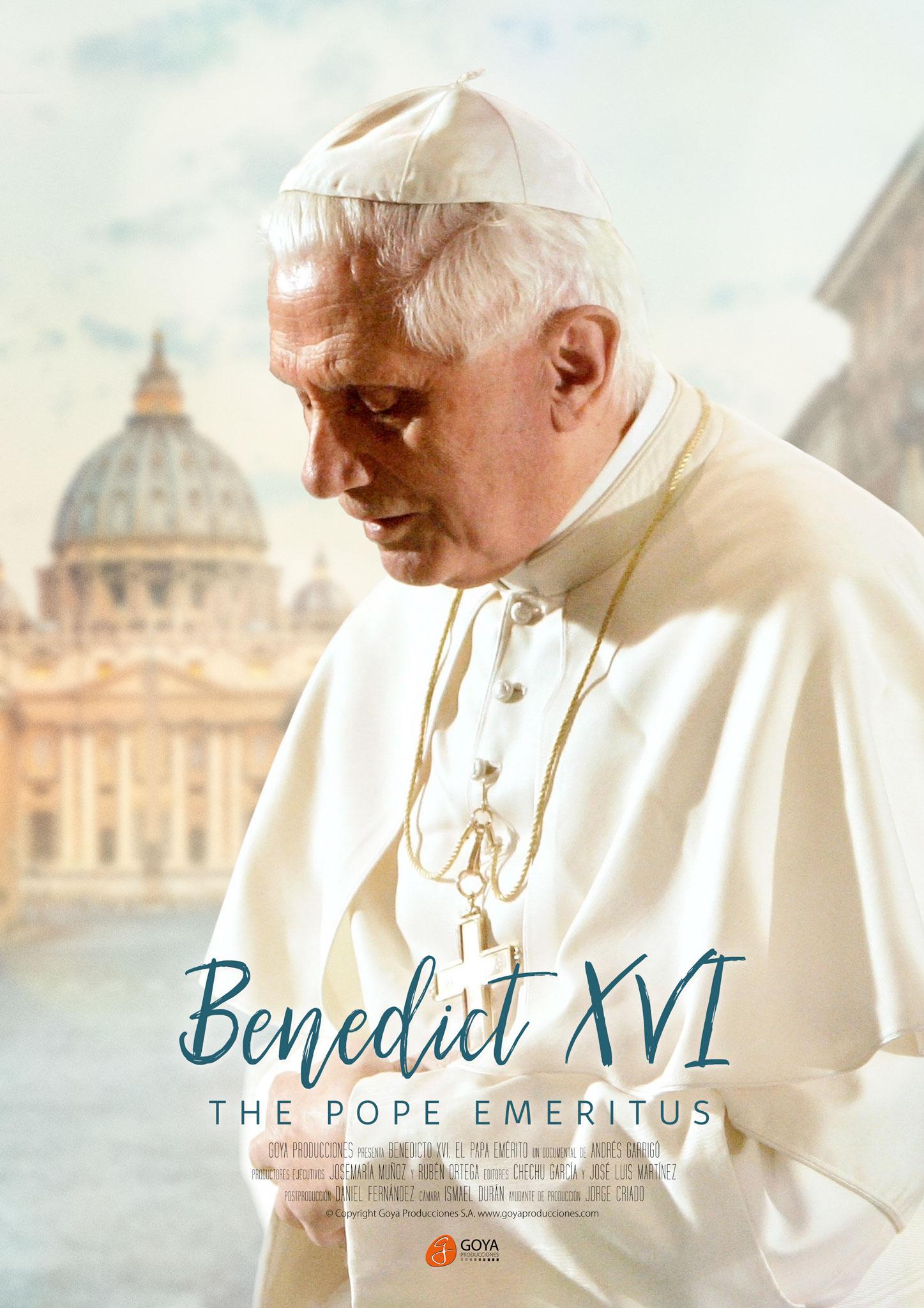 Benedict XVI: The Pope Emeritus - poster