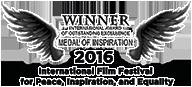 Award of Outstanding Excellence: International Feature Film, Filmmaker of Inspiration