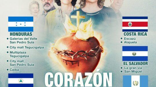 """Gran estreno de """"Corazón Ardiente"""" en Centroamérica 10 de junio 2021"""